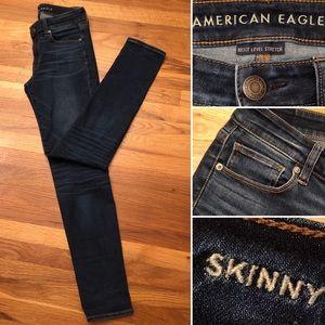 AEO Skinny Next Level Stretch Denim Jeans